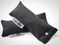 Moso Bamboo Charcoal Bags ($8): One in each running shoe keeps the sweat stink at bay. After six months, a couple of hours in the sunlight will recharge the charcoal's moisture adsorbing and smell-slaying pores.