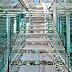 Marble & Glass Stair