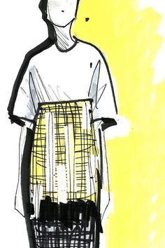 Spring 2014 Designer Inspirations: Derek Lam [Courtesy Photo] #NaaiAntwerp