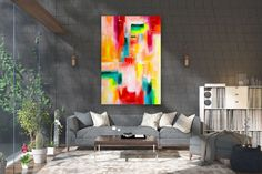 Items similar to Large Modern Wall Art Painting,Large Abstract wall art,texture art painting,abstract originals,bathroom wall art on Etsy Large Abstract Wall Art, Large Canvas Art, Large Painting, Painting Art, Textured Painting, Painting Abstract, Wall Canvas, Art Paintings, Bedroom Paintings