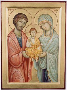 Gesù, Giuseppe, Maria vi dono il cuore e l'anima mia. Gesù, Giuseppe, Maria assistetemi nell'ultima mia agonia. Gesù, Giuseppe, Maria spiri in pace con Voi l'anima mia.