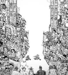 Grand Prix Drawing 2014 by Erik Svetoft, via Behance