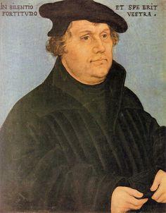 Мартин Лютер, 1532 - Лукас Кранах Старший