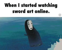 I'M ACTUALLY DYING RIGHT NOW. This is so true. I have never cried over any show before, but then I watched SAO.