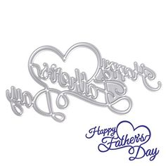 SCASTOE Happy Father's Day Cutting Dies Stencil DIY Scrap... https://www.amazon.com/dp/B06XFR12XC/ref=cm_sw_r_pi_dp_x_n3k0ybYP407G4