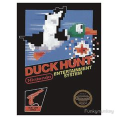 Duck Hunt Nes Art