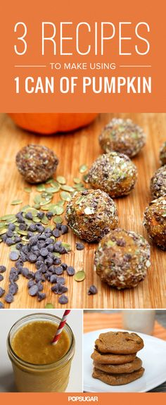 Got 1 Can of Pumpkin? Make These 3 Healthy Recipes
