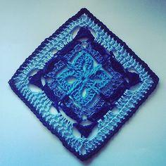 "Garden Gate 6"" Granny Square Motif By Shelley Husband - Free Crochet Pattern - (ravelry)"