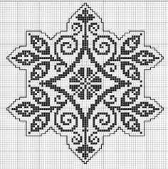 Octogonal 07 Many of the charts are also appropriate for filet crochet or even jacquard knitting. Butterfly Cross Stitch, Cross Stitch Borders, Cross Stitch Charts, Cross Stitch Designs, Cross Stitching, Cross Stitch Embroidery, Embroidery Patterns, Cross Stitch Patterns, Filet Crochet