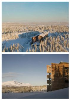 Copperhill Mountain Lodge, Åre, Sweden / Bohlin Cywinski Jackson © Jonas Kullman