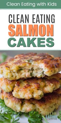 Frugal Food Items - How To Prepare Dinner And Luxuriate In Delightful Meals Without Having Shelling Out A Fortune Clean Eating Salmon Cakes Canned Salmon Recipes, Fish Recipes, Lunch Recipes, Seafood Recipes, Cake Recipes, Dinner Recipes, Clean Eating Salmon, Cooking Salmon, Clean Eating Cake