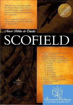 """""""BIBLIA DE ESTUDIO SCOFIELD 1960RV COLOR NEGRO, PIEL FABRICADA"""" by Almacenes Cristianos, via Flickr"""