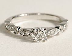 "Might be too ""tiny and thin"" but so dainty & pretty with a bit of a vintage touch"