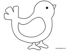 modello uccellino Applique Templates, Applique Patterns, Applique Quilts, Applique Designs, Vogel Quilt, Stick Figure Drawing, Baby Applique, Painted Rocks Craft, Bird Quilt