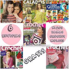 Delicadezas en crochet Gabriela: 6 Revistas para descargar en pdf tejidos en croche...