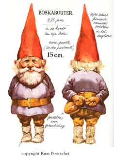Photo above, a Gnome drawn by Rien Poortvliet, with description. Rockwell Kent, Norman Rockwell, Illustrations, Illustration Art, David The Gnome, Baumgarten, Art Academy, Dutch Artists, Magical Creatures