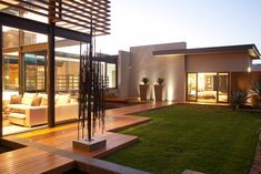 modern tropical house | Modern Tropical Home, House Aboobaker by Nico van der Meulen ...- could be masters with common area/ garden/ and entertainment area