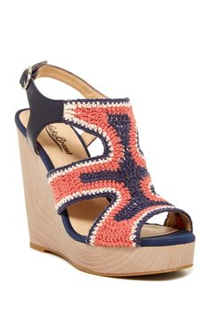 Riverr Wedge Sandal by Lucky Brand on @nordstrom_rack