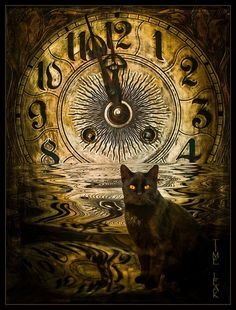 black cat - The Witching hour | The Witching Hour | witchy things