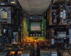 Jeffrey Milstein - NYC. Fotografia aerea NY, urban landscapes, cityscapes. Rascacielos, paisajes de la modernidad. Geometria arquitectonica de la ciudad. Luces de Nueva York. #iconocero