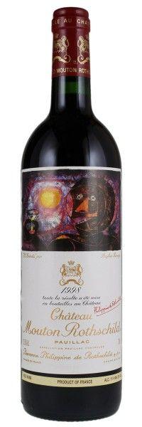 1998 Mouton-Rothschild. Type: Red Wine, Bordeaux Red Blends (Claret), Premier Cru (First Growth). Region: France, Bordeaux, Pauillac. 315$ (7.875 Kc)