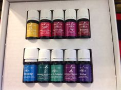 Just received my oils! Can't wait to get started.
