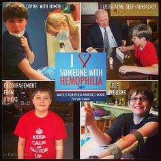 March is #Hemophilia Awareness Month! #LoveHim