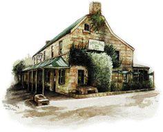 St Albans Village Australia Home Page Old Pub, St Albans, Urban Sketching, Windsor, Sydney, Arms, Hotels, Construction, Australia