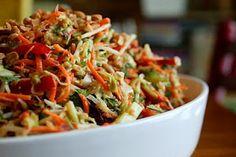 Best thai peanu salad