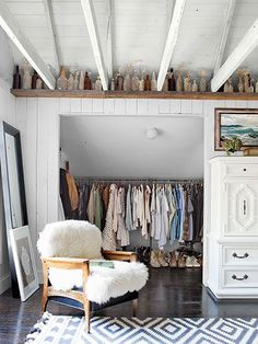 45 Ways To Creatively Display Your Collections. Attic ClosetCloset ...