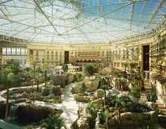 Inside the Gaylord Palms Resort