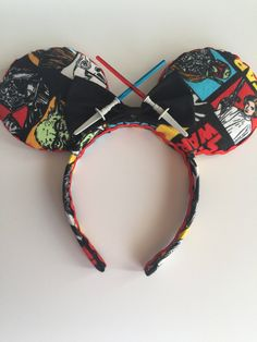 Excited to share the latest addition to my shop: Star Wars Mickey Ears Disney Cute, Diy Disney Ears, Disney Mickey Ears, Disney Diy, Walt Disney, Disney Crafts, Disney Girls, Disney Family, Disney Stuff