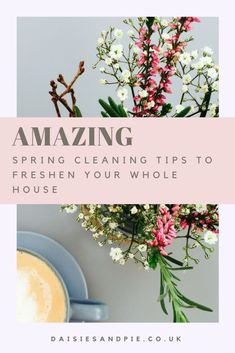 AMAZING spring cleaning tips to freshen and clean your whole house easily. With free housework printables, tips on products and hacks for getting cleaning done quicker. #homemaking #houseworktips #springcleaningtips #cleaningtips #homeorganisation