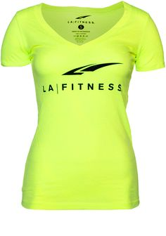 NEON LAF DEEP-V Premium 100% cotton with athletic fit.