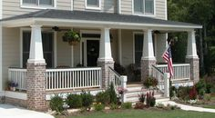 Craftsman Style Front Porch Designs | Thank you for your interest in quality columns by Melton Classics.