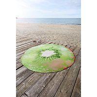 STRANDHANDDUK KIWI - grön, textil (165cm) - ESPOSA