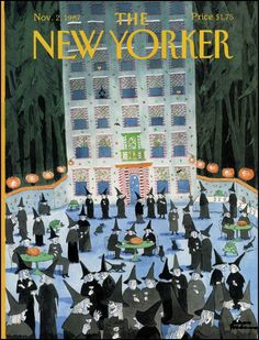 Image result for new yorker Halloween covers