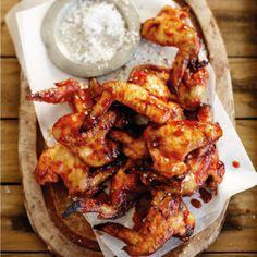 The best way to braai chicken wings