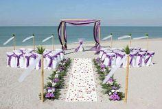 Pour un mariage sur la plage... ...