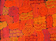 My Mother's Dreaming (BM-1000) by Betty Mbitjana http://merindahart.com.au/artists/betty-mbitjana