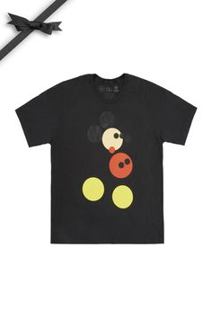 Hirst Mickey Tee - Limited edition, featuring an exclusive Disney commission by Damien Hirst.
