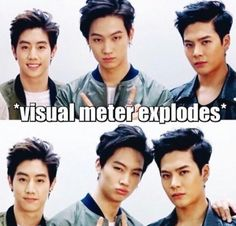 Mark, Jaebum, and Jackson Mark Bambam, Got7 Jb, Yugyeom, Youngjae, Got7 Meme, Got7 Funny, Got7 Jackson, Jackson Wang, Mark Jackson