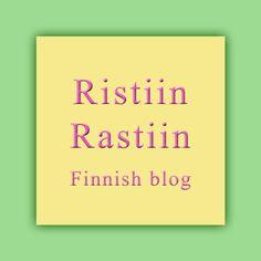 Ristiin Rastiin -blogi. Värikkäitä neuleita ja virkkausta, ohjeita ja ideoita. My Finnish knitting and crochet blog.