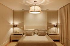 decoração cama de madeira clara quarto - Pesquisa Google