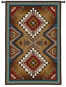 76x53-Large-BRAZOS-Southwest-Tapestry-Wall-Hanging
