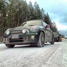 MINIs in Lapland
