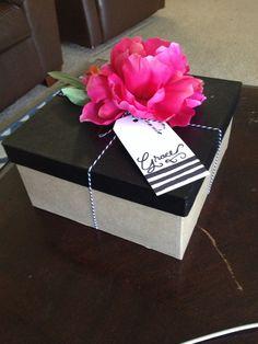 Will you be my bridesmaid box DIY