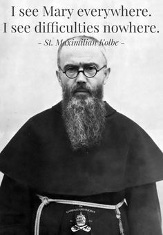 Maximilian Kolbe - keep the focus on Love and light of God of Love and Light - I Mary, Jesus and A Course In Miracles too - Catholic Prayers, Catholic Quotes, Catholic Saints, Roman Catholic, Catholic Answers, Maximillian Kolbe, St Maximilian, Catholic Gentleman, Mama Mary