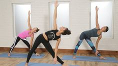 30-Minute Power Yoga Flow For Tight Abs and a Toned Butt: A good yoga flow, when the poses are connected into a flowing sequence directed by your breath, makes for a great two-in-one workout providing flexibility training and strength training all at once.
