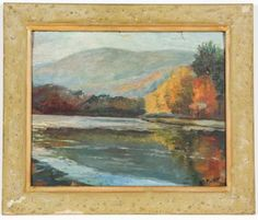 Cleveland-Orr-Fisher-American-1885-1974-Still-Water-Lot-329